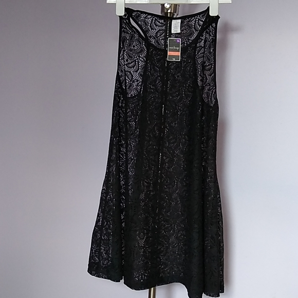 west loop Dresses & Skirts - Black XL Lace Dress